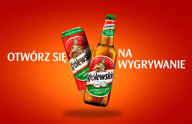 Konkurs Królewskie, wygraj piwo i lot awionetką