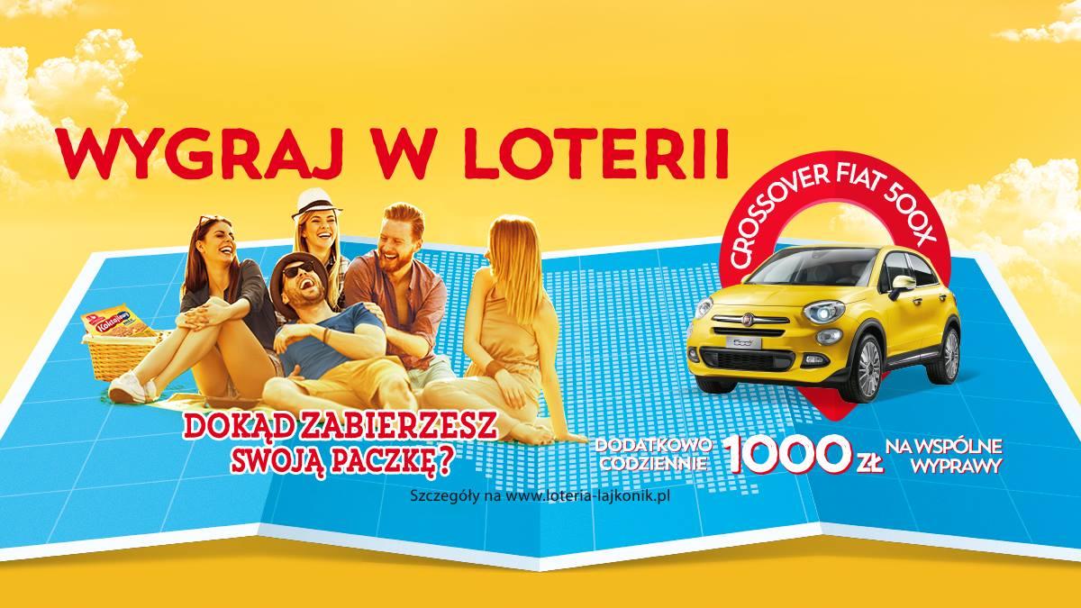 Wygraj Fiata 500x w loterii Lajkonik.