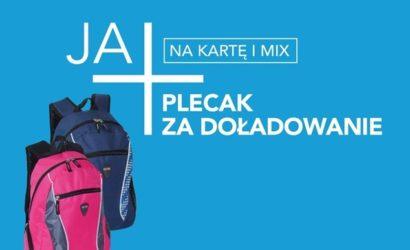 Doładuj konto w Plusie i otrzymaj plecak gratis