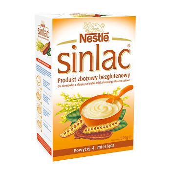 Testuj za darmo Nestle Sinlac