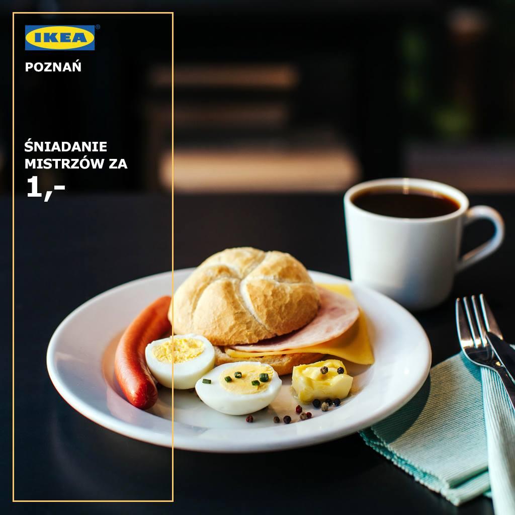 Śniadanie za 1 zł w Ikea