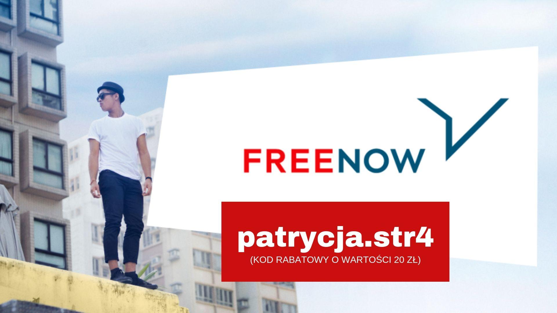 Free Now kod rabatowy na pierwszy przejazd